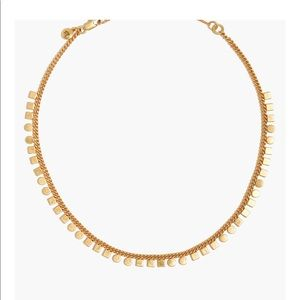 Madewell mini geochain choker new